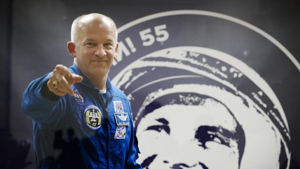 Nasa's Jeff Williams is one of the new crewmembers aboard the International Space Station (AP)