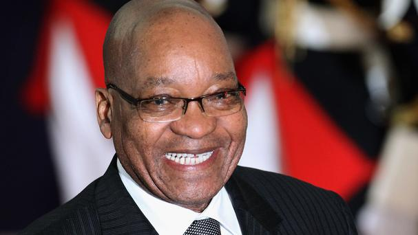 Jacob Zuma also heads the ANC as well as being South Africa's president
