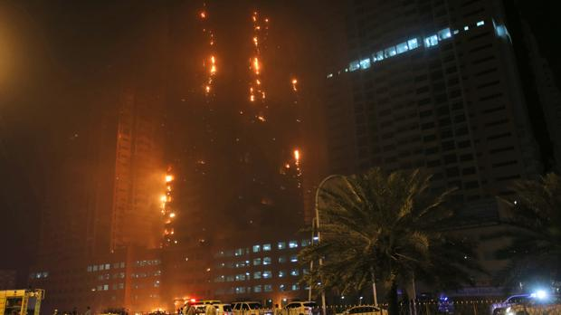 United Arab Emirates towers fire extinguished - Independent ie