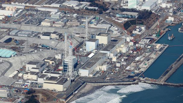 The plant was crippled in the 2011 quake and tsunami (AP)