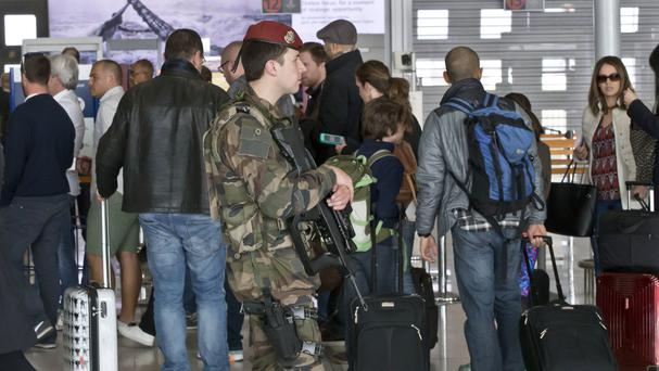 A child has been stuck at Charles de Gaulle airport for 10 days (AP)
