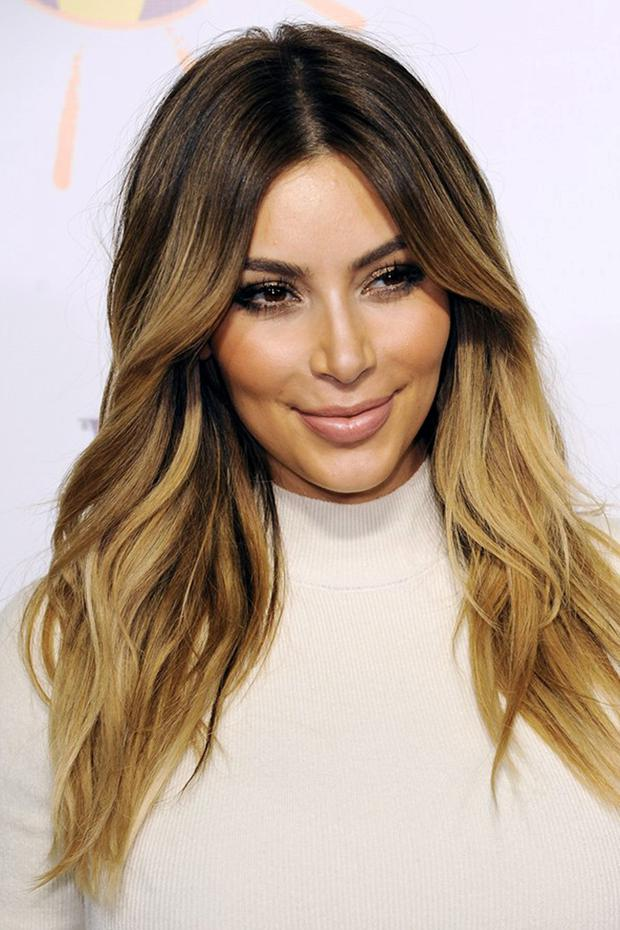 After Kims Hipster Hairstyle Are We Now Seeing Peak Dip Dye