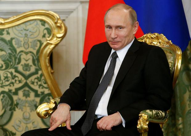 Russian premier Vladimir Putin. Photo: Reuters