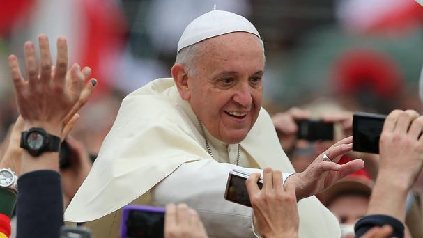 The site for Pope Francis's July meeting with world youth in southern Poland has safety concerns