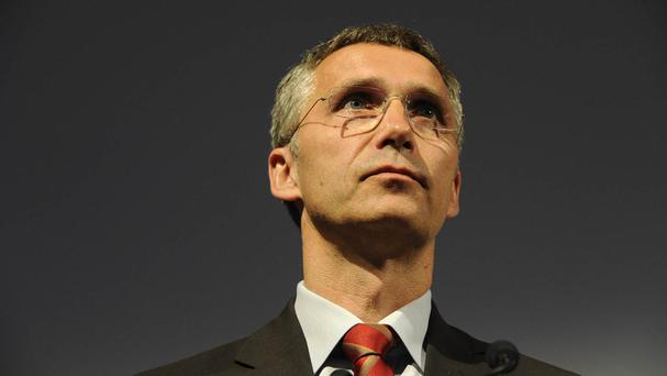 The announcement was made by Nato secretary-general Jens Stoltenberg