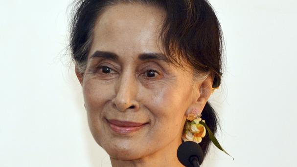 Ms Suu Kyi is effectively in charge of Burma's new government, although she is blocked from serving as president