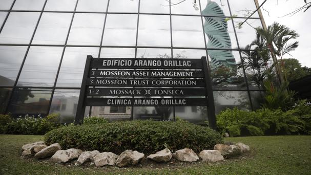 The Mossack Fonseca law firm offices in Panama City (AP)