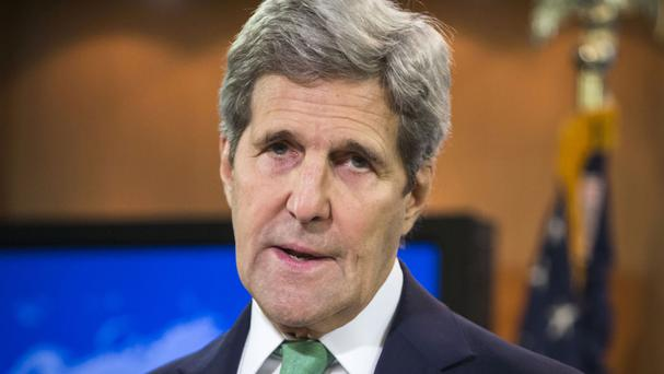 John Kerry is to visit the Hiroshima Peace Memorial Park (AP)