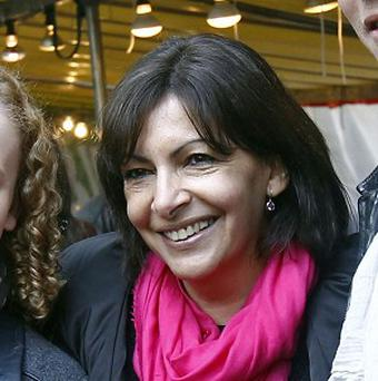The socialist mayor of Paris, Anne Hidalgo (AP)