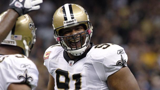 Will Smith pictured playing for New Orleans Saints against Indianapolis Colts in 2011 (AP)