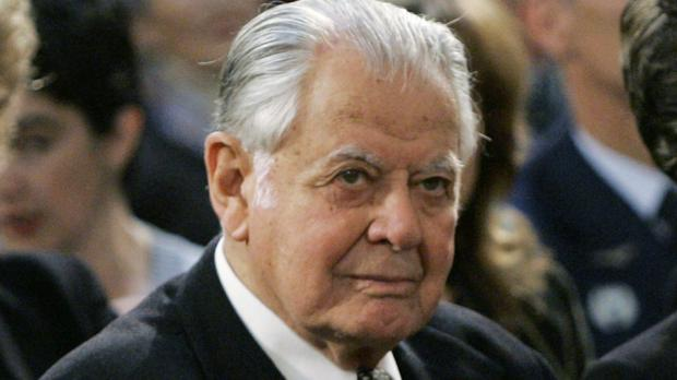 Chile's former president Patricio Aylwin has died aged 97 (AP)