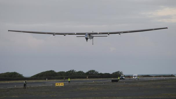 The Solar Impulse 2 is on its way to Northern California (AP)