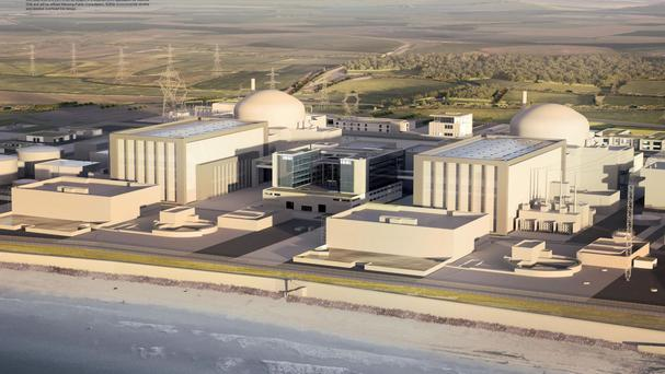 An artist's impression of plans for Hinkley Point