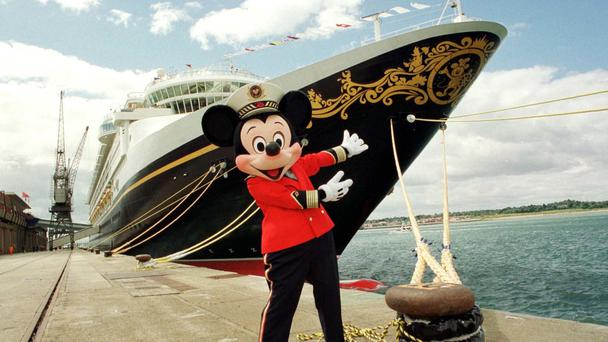A cruise ship operated by Disney picked up the wanted men