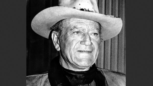 John Wayne was the star of movies including The Alamo, The Green Berets and True Grit (AP)