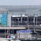 Brussels Airport reopened its departure hall yesterday for the first time since deadly Islamic extremist attacks in March