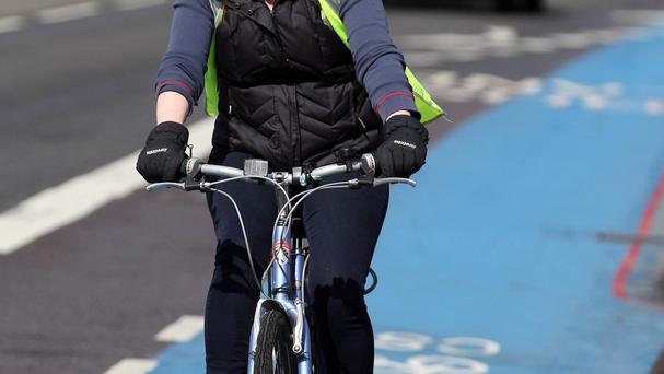 Cyclists are issued a charge through the post and given 28 days to pay the €40 fine (Stock photo)