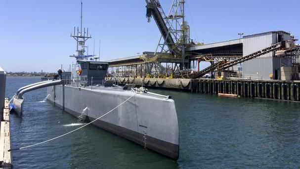 The Pentagon's research arm is testing the revolutionary Sea Hunter (AP)