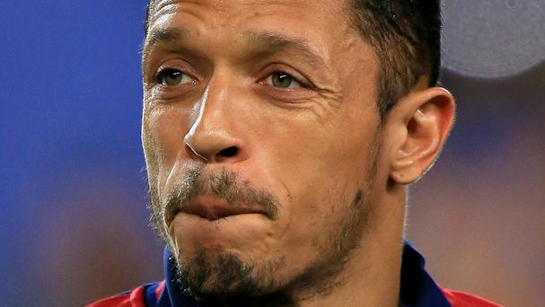 Adriano joined Barcelona from Sevilla in 2010