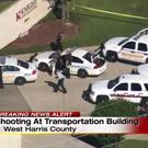 Video grab of the scene at the Knight Transportation office in Katy, Texas (KPRC Houston via AP)