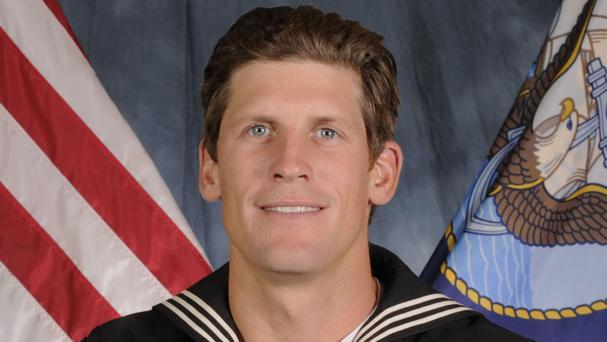 Navy Petty Officer 1st Class Charles Keating (US Navy/AP)