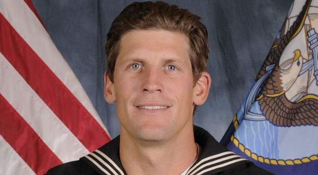 Navy Petty Officer 1st Class Charles Keating was killed during a rescue mission in Iraq