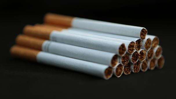 Branding is due to be removed from cigarette packets this summer