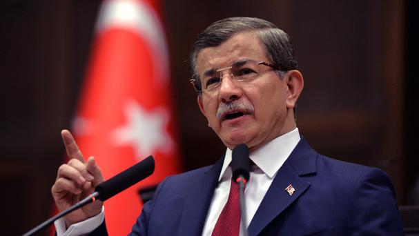 Ahmet Davutoglu will step down as premier later this month (AP)