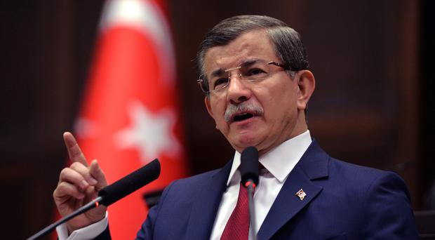 Ahmet Davutoglu is expected to step down as premier later this month (AP)