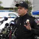 Montgomery County Police Captain Paul Starks speaks to the media (AP)