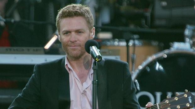 Canadian rocker Bryan Adams