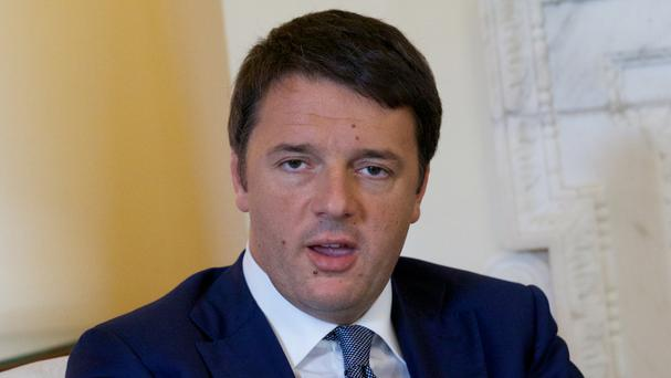 Italian Prime Minister Matteo Renzi said it was a