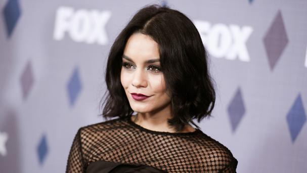 Vanessa Hudgens has paid a fine for carving a heart into a red rock wall (AP)