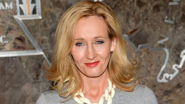 JK Rowling has no objection to Donald Trump coming to the UK (AP)