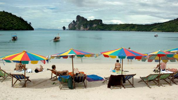 Authorities say Koh Tachai is being damaged by tourism