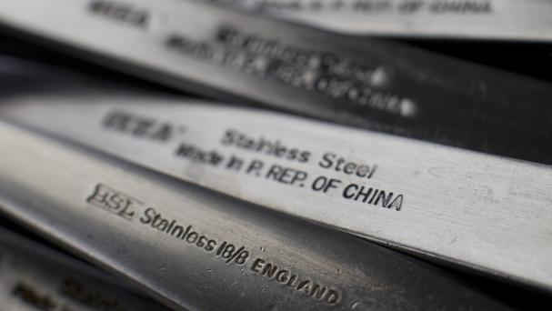 China has been criticised for flooding the market with cheap steel