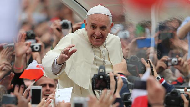 Pope Francis will visit Ireland in 2018