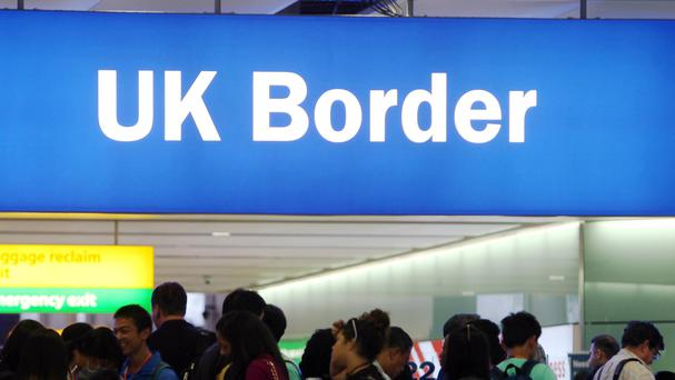 Three Albanians who had reached England illegally were sent back to Cuxhaven on Monday