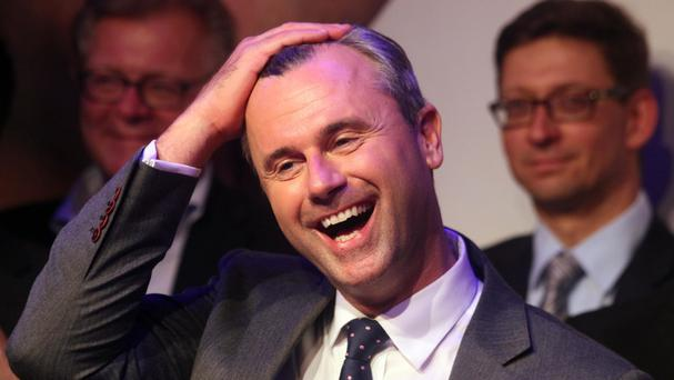Norbert Hofer has conceded defeat in the poll (AP)