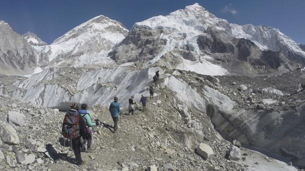 The Indian climber is the third to die on Everest in recent days (AP)