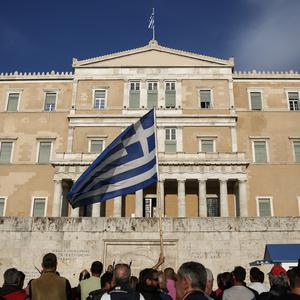 The IMF is proposing that Greece should be allowed to defer payments on its European bailout loans, underscoring key differences with euro-area lenders over the future of the Greek economy. Photo: AP