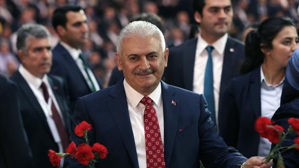 Binali Yildirim is Turkey's new Prime Minister (AP)