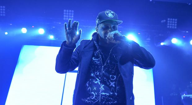 Rapper T.I. performing in February at Madison Square Garden in New York (AP)