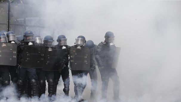 Waves of strike action across France