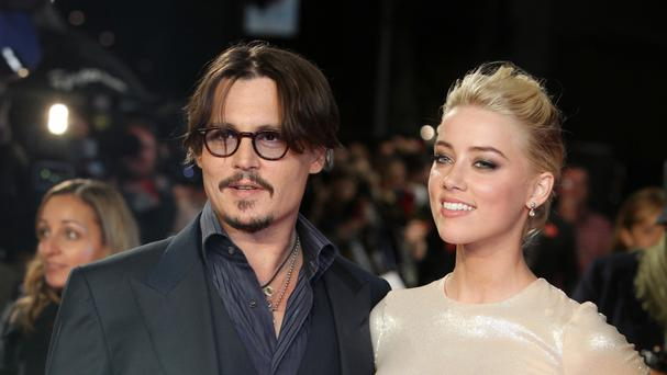 Johnny Depp and Amber Heard (AP)