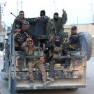 Iraq's elite counter-terrorism forces arrive to join the forces surrounding Fallujah, Iraq. Photo: Khalid Mohammed