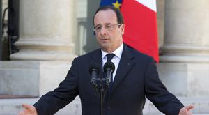 French President Francois Hollande. Photo: AP