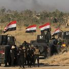 Iraqi military forces prepare for an offensive into Fallujah to retake the city from Islamic State militants (AP)