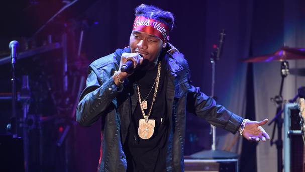 Fetty Wap's music video included drug references and a pole dancer (Invision/AP)