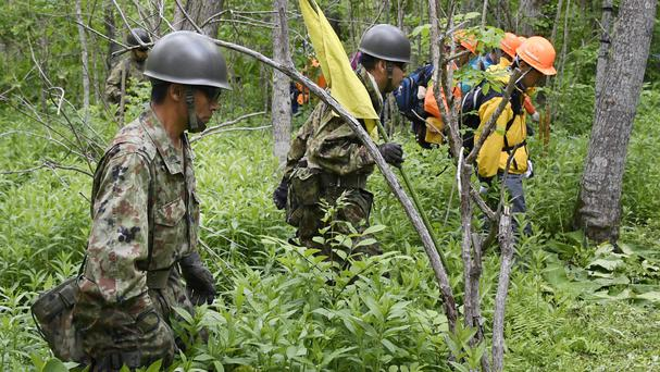 A search operation for Yamato Tanooka has found no trace of the seven-year-old (AP)